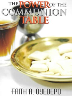 The Power of the Communion Table_Front