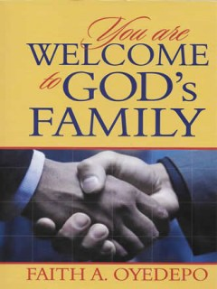 You are welcome to Gods Family_Front Cover